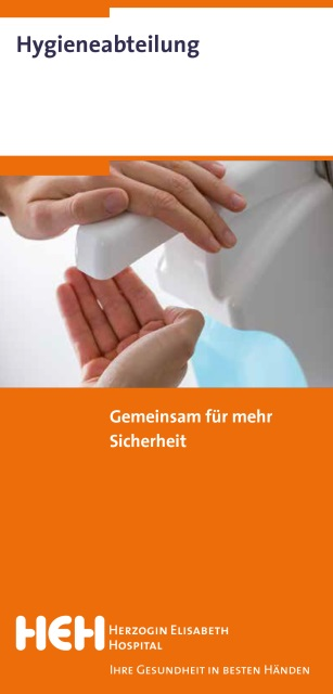 Ihre Gesundheit in besten Händen: Hygiene
